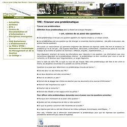 Site du Lycée-Collège Jean-Monnet