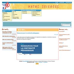 [Site de maths sciences]