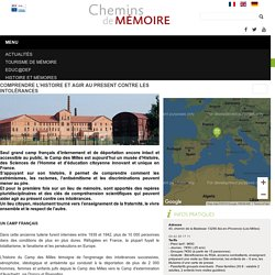Chemins de Mémoire - Ministère de la Défense