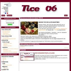 le site de la mission TICE 06