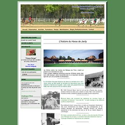 Site officiel du Haras De jardy