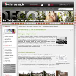 Site officiel de la Ville de Stains.