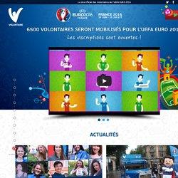 Site officiel des Volontaires de l'UEFA EURO 2016