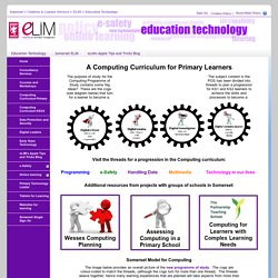 Site Pages - Primary_Computing_home