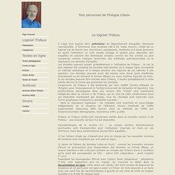 Site personnel de Philippe Cibois