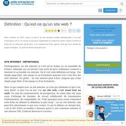 Un site web ? C'est quoi ? Réponse de Petite Entreprise.net
