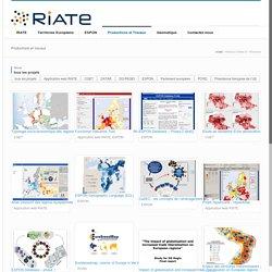 RIATE - Réseau interdisciplinaire pour l'aménagement et la cohésion des territoires de l'Europe et de ses voisinages [fr]