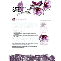 Site de la SATED en Picardie