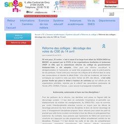Site du SNES Dijon