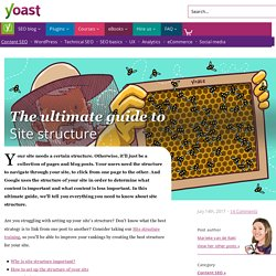 Site structure: the ultimate guide • Yoast