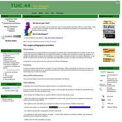le site des TUIC 44 1er degré - La barre lire-couleur