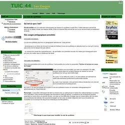 le site des TUIC 44 1er degré - La voix de synthèse