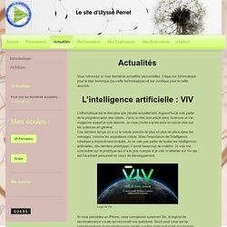 Site d'Ulysse Perret - Actualités