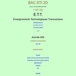 site web sti 2D mermoz