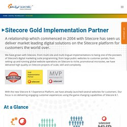 Sitecore Gold Implementation Partner - edynamic