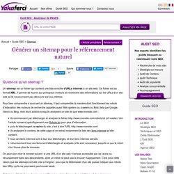 Sitemap: Comprendre et générer un fichier sitemap