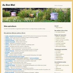 Sites apiculteurs