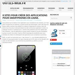 8 sites pour créer des applications pour smartphones en ligne.