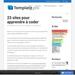 23 sites pour apprendre à coder en ligne