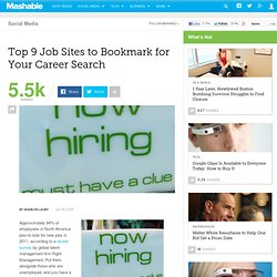 9 Job Sites to Bookmark for Your Career Search