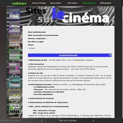 Sites sur le cinéma