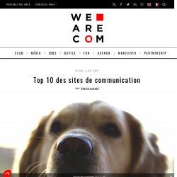 Top 10 des sites de communication (presque) corporate