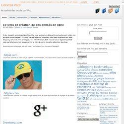 19 sites de création de gif animés en ligne