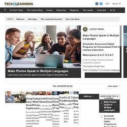 - Top 25 Web 2.0 Sites for Education by David Kapuler