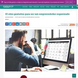 Sites para ser um empreendedor organizado