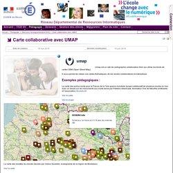 Sites pour l'enseignant - Carte collaborative avec UMAP