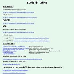 Sites et liens utiles