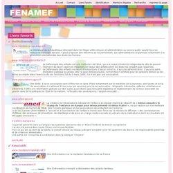 sites favoris, fenamef - Liens favoris