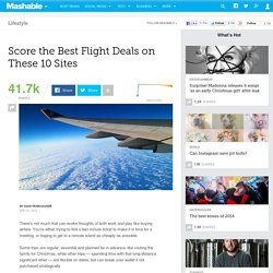 10 Sites For The Best Airfare Deals