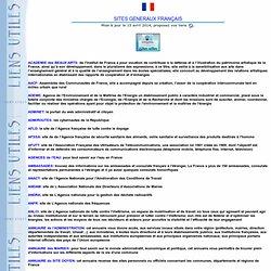 Sites généraux français