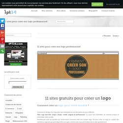 11 sites gratuits pour créer son logo professionnel