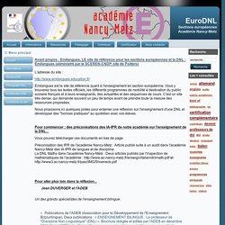 Sites Internet DNL