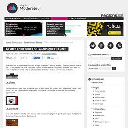 10 sites pour jouer de la musique en ligne