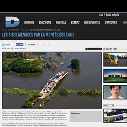 Les sites menacés par la montée des eaux - Pollution - Canal D