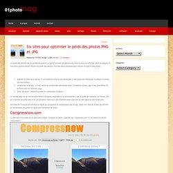 Quatre sites pour optimiser le poids des photos PNG et JPG