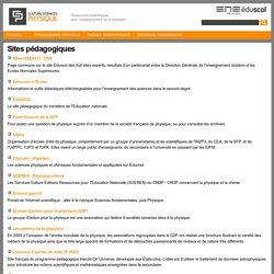 Sites pédagogiques