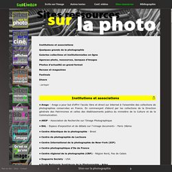 Sites sur la photographie