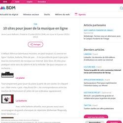 10 sites pour jouer de la musique en ligne - Blog du Modérateur