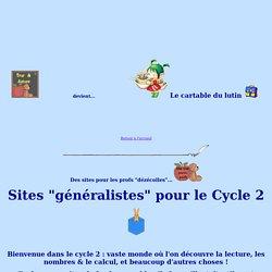 Sites pour le cycle 2