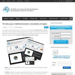 10 sites pour redimensionner une photo en ligne