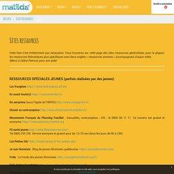 Matilda: sites ressources
