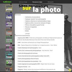 Sites sur la photographie