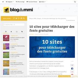 10 sites pour télécharger des fonts gratuites