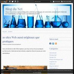 10 sites Web aussi originaux que pratiques