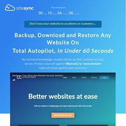 SiteSync FE Sales Page