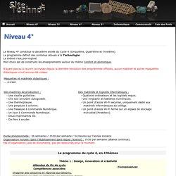 Sitetechno.fr / Niveau 4°